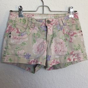 Girls Target Brand Floral Short